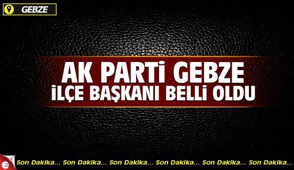 AK Parti Gebze İlçe Başkanı adayı İrfan Ayar oldu!