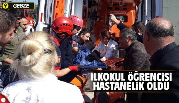 Gebze'de ilkokul öğrencisi hastanelik oldu
