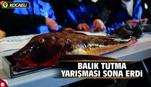 Gölcük Balık Tutma Yarışması Sona Erdi