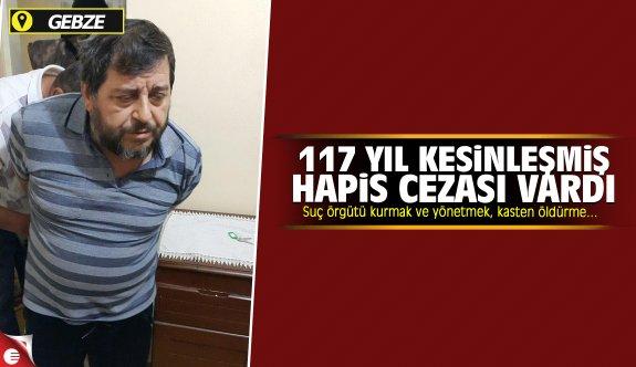 Kesinleşmis 117 yıl hapis cezası bulunan şüpheli yakalandı
