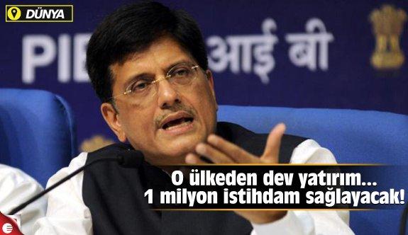 O ülkeden dev yatırım!.. 1 milyon istihdam yaratacak!