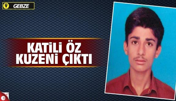 Pakistanlı gencin katili kuzeni çıktı