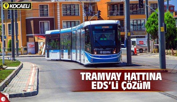 Tramvay hattına EDS'li çözüm