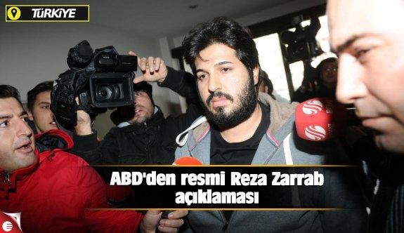 ABD'den resmi Reza Zarrab açıklaması