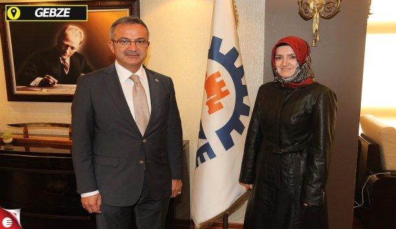 Başkan adayı Uzuner başkan Köşker'i ziyaret etti