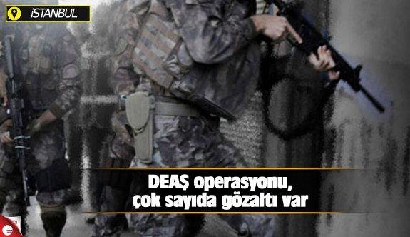 DEAŞ operasyonu,çok sayıda gözaltı var