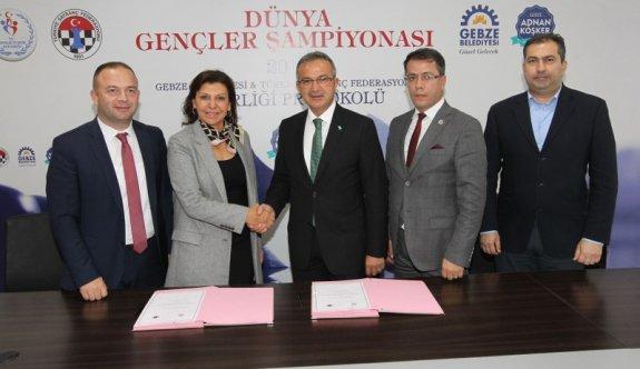 Dünya Gençler Satranç Şampiyonası  için imzalar atıldı