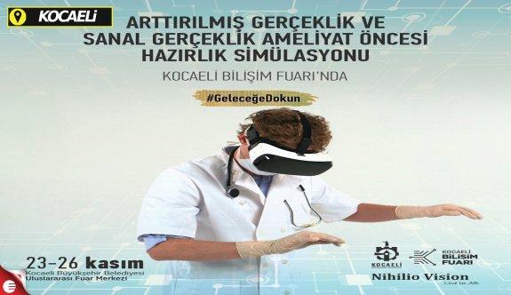 Dünyanın ilk ameliyathane eğitim simülatörü Kocaeli Bilişim Fuarı'nda