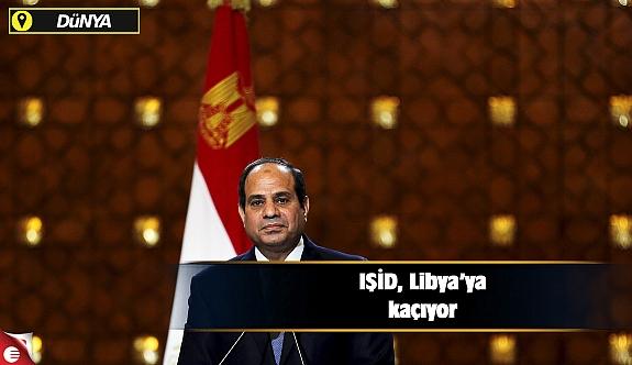 IŞİD, Libya'ya kaçıyor