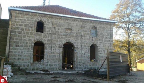 Tarihi Tepecik Camii şekilleniyor