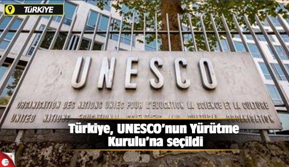 Türkiye, UNESCO'nun Yürütme Kurulu'na seçildi