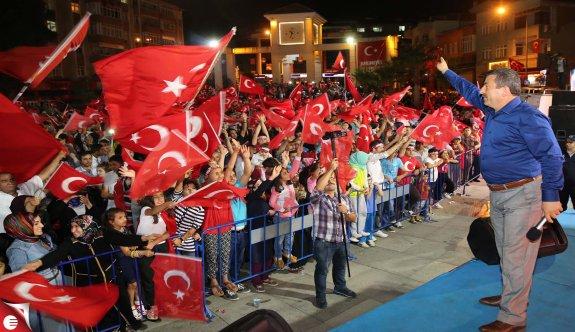 Darıca'dan Kudus'e destek mitingi