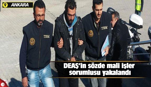 DEAŞ'in sözde mali işler sorumlusu yakalandı