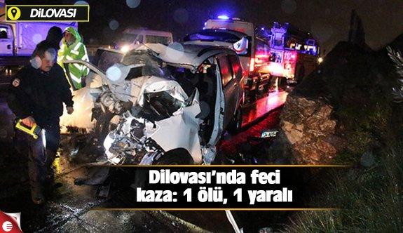 Dilovası'nda feci kaza: 1 ölü, 1 yaralı!