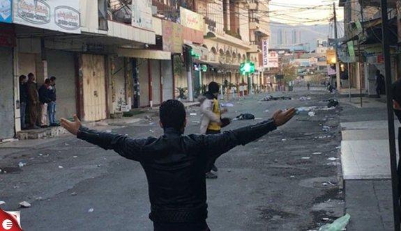 Kuzey Irak'ta protesto, gösteri ve şiddet olayları devam ediyor