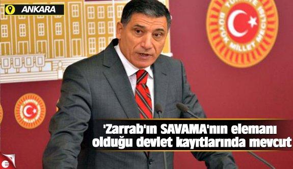 'Zarrab'ın SAVAMA'nın elemanı olduğu devlet kayıtlarında mevcut