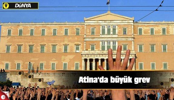 Atina'da büyük grev