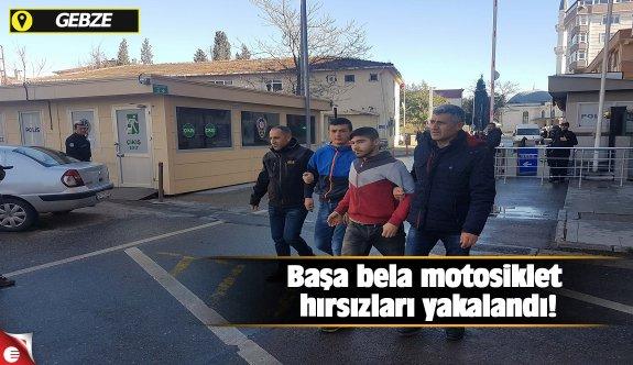 Başa bela motosiklet hırsızları yakalandı!