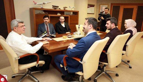 Başkan Karaosmanoğlu, TÜGVA'yı ağırladı