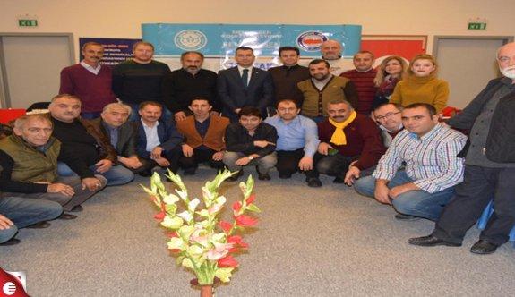 BEM BİR SEN 7 Nolu Şube İhlas Armutlu'da gazetecileri ağırladı