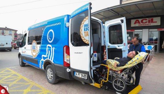 Büyükşehir'den engelsiz taksi hizmeti