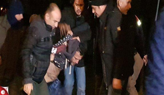 Cezaevi aracından firar etti, Düzce'de yakalandı