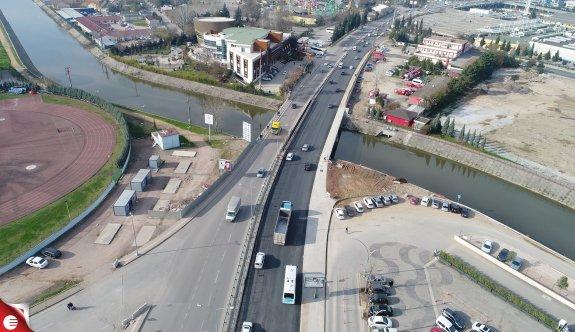 Kumla Deresi Köprü çalışmaları tamamlandı