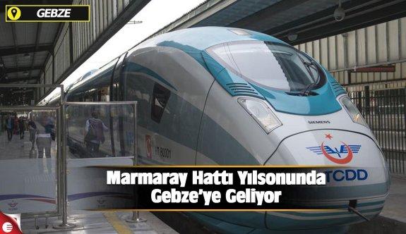 Marmaray Hattı Yılsonunda Gebze'ye Geliyor