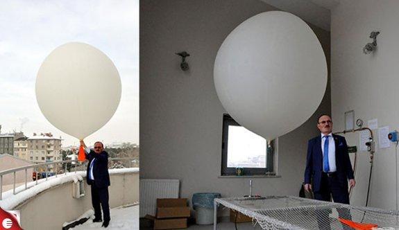 Meteoroloji balonları 160 dolara uçuyor