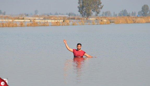 Tarsus'ta 38 bin dekar alan sular altında, çiftçi yardım bekliyor