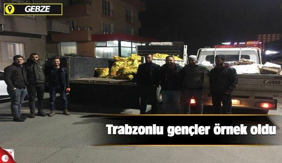 Trabzonlu gençler örnek oldu