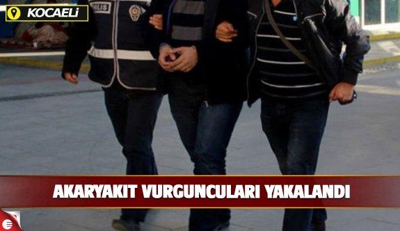 35 akaryakıt vurguncusu tutuklandı!