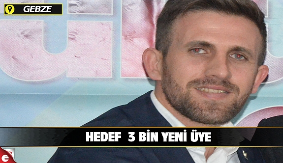 AK Parti Köşklüçeşme'nin Hedefi 3 Bin yeni üye
