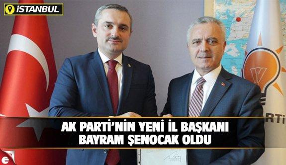 AK Parti'nin yeni il başkanı Bayram Şenocak oldu