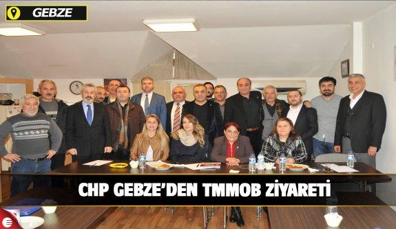 CHP GEBZE'DEN TMMOB ZİYARETİ