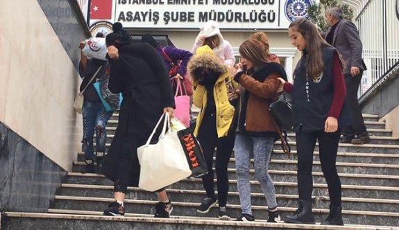 İstanbul'da büyük fuhuş operasyonu