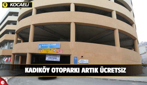 Kadıköy otoparkı ücretsiz hizmet vermeye başladı