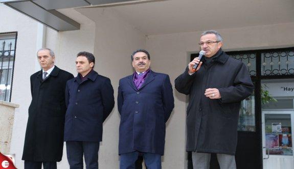 Kaymakam Güler ve Başkan Köşker FATİH SULTAN MEHMET LİSESİ'NDE