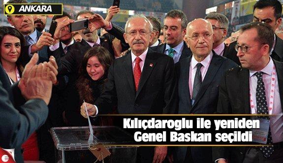 Kılıçdaroğlu ile yeniden Genel Başkan seçildi