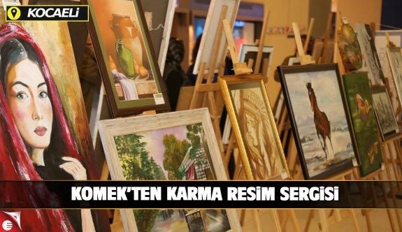 """KO-MEK'in """"Karma Resim Sergisi"""" tam not aldı"""
