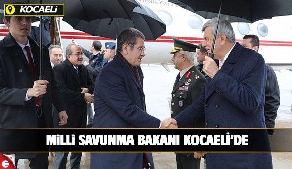 Milli Savunma Bakanı Kocaeli'de