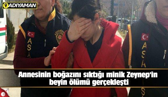 Minik Zeynep'in beyin ölümü gerçekleşti