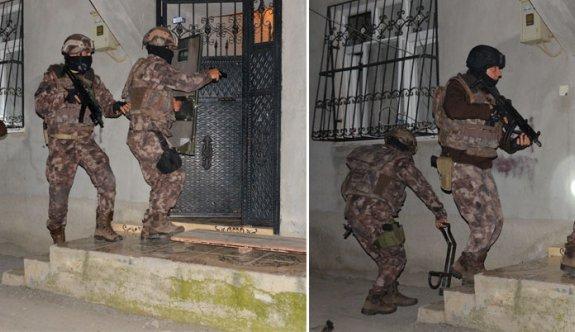 Adana hava destekli PKK operasyonu: 47 gözaltı