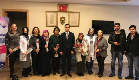 AK Genç Dilovası kadınları unutmadı