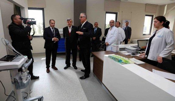 Anadolu Sağlık Merkezi GOSB Tıp Merkezini ziyaret etti
