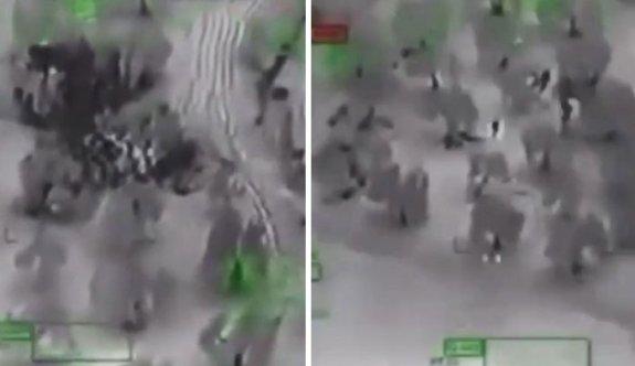 ATAK helikopteri teröristleri böyle vurdu