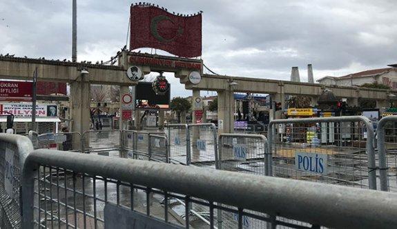 """Bakırköy'de """"8 Mart mitingi'' için geniş güvenlik önlemleri"""