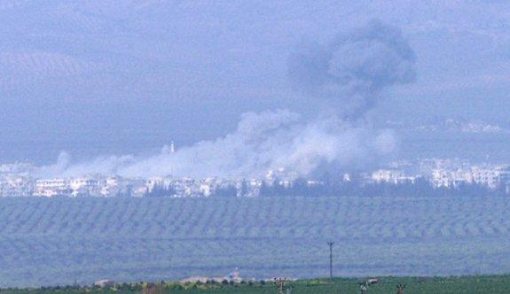 Cinderes bombalandı