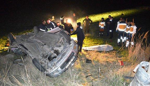 Çubuk'taki kazada aynı aileden 3 kişi öldü, 2 kişi yaralandı