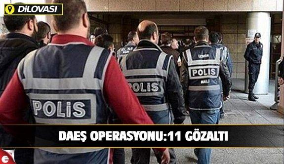 Dilovası'nda DEAŞ operasyonu: 11 gözaltı